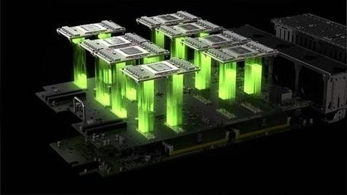 엔비디아의 그래픽처리장치(GPU) 칩의 모습 /엔비디아 제공
