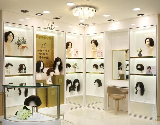 롯데백화점 대구점에 입점해 있는 '하이모 레이디' 매장 전경/하이모 제공