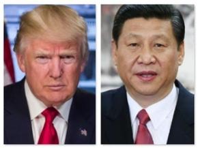 1인 권력체제를 공고히 하는 공산당 대회를 앞둔 시진핑(오른쪽) 중국 국가주석은 도널드 트럼프 미국 대통령의 지재권 조사 압박에 강경 대응하는 행보를 보일 것으로 관측된다. /바이두