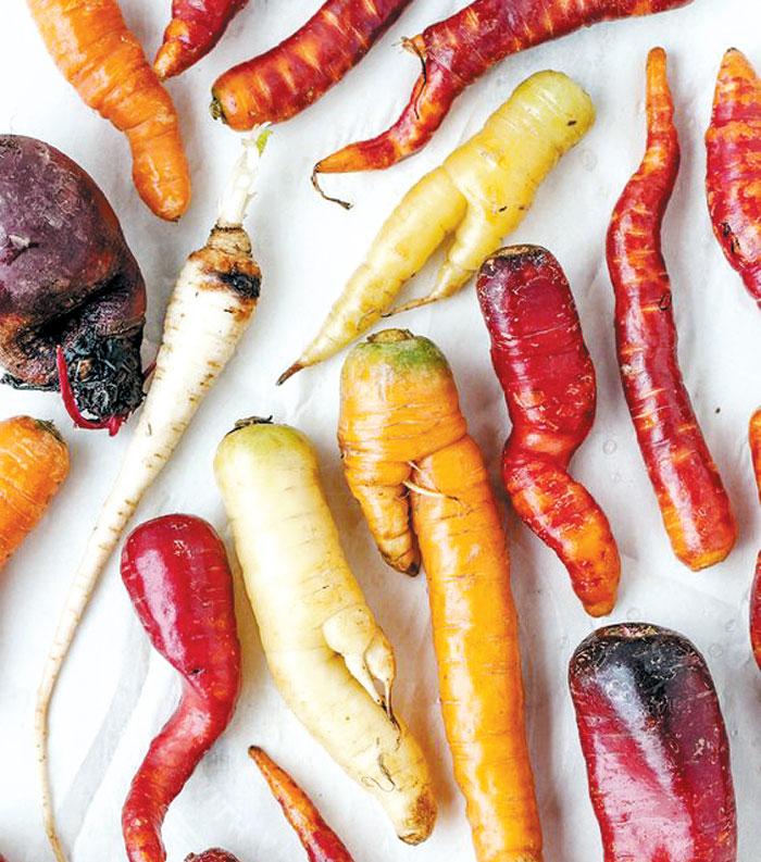 못난이 채소를 싸게 판다는 프랑스 한 수퍼마켓 광고 사진