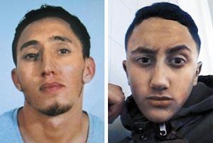 바르셀로나 차량 테러 용의자로 지목된 모로코 출신 우카비르 형제.
