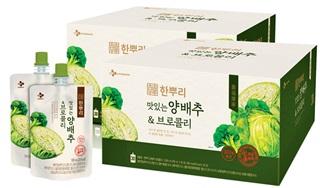 CJ 한뿌리 양배추&브로콜리