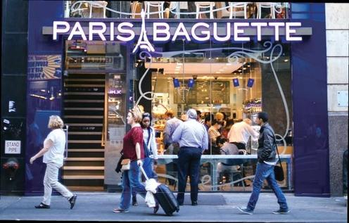 미국 뉴욕 맨해튼의 파리바게뜨 점포 전경/SPC제공