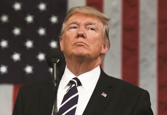 도널드 트럼프 미국 대통령은 연간 경제 성장률을 3% 이상으로 끌어올리겠다고 공약했다./사진=블룸버그