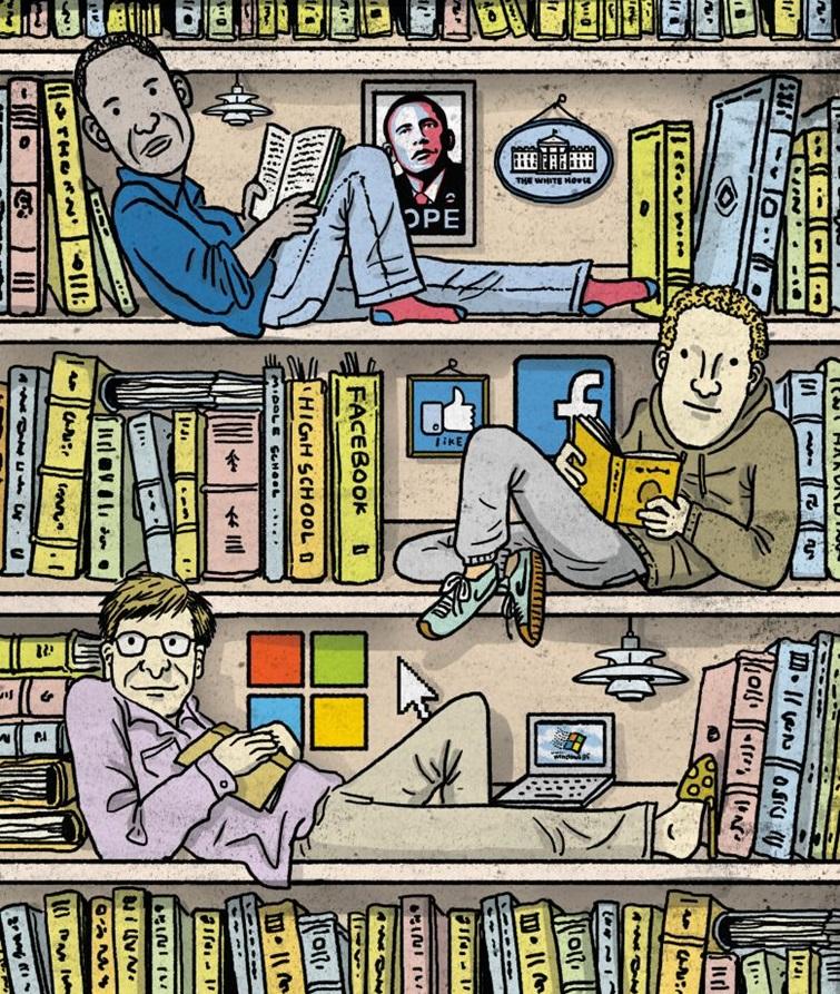 빌 게이츠·오바마·저커버그