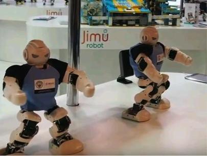 중국 서비스용 로봇업체 유비테크가 독일 베를린에서 열린 IFA 2017에서 출품한 로봇/유튜브 캡처
