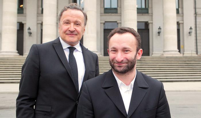 바이에른 국립오페라 총감독 니콜라우스 바흘러(왼쪽)와 음악감독 키릴 페트렌코.