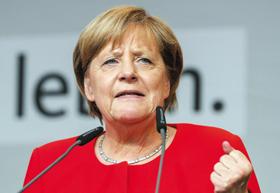 지지율 1위 정당 대표, 메르켈 - 각종 여론조사에서 1위를 달리고 있는 여당 기독민주(CDU)·기독사회(CSU)의 앙겔라 메르켈 독일 총리.