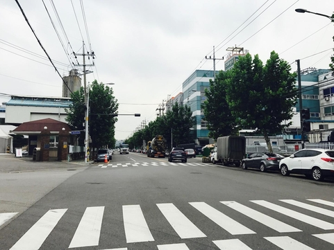 5일 오전 인천 남동국가산업단지./변지희 기자