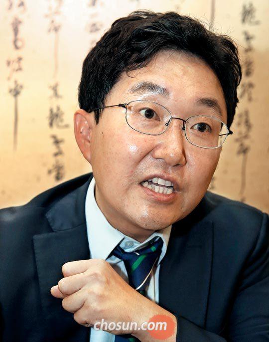 """김용태 의원은""""보수의 실패로 끝나는 게 아니라 나라의 실패로 가는 위기를 느끼고 있다""""고 말했다."""