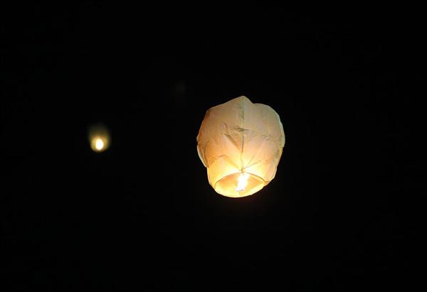 밤하늘을 수놓은 풍등