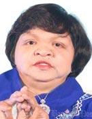 미얀마의 유명 여성 점술가 스에 스에 윈