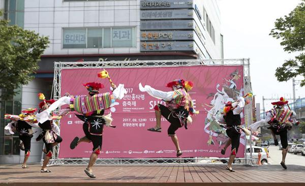없던 흥도 생기는 천안흥타령춤 축제 쇼케이스 현장