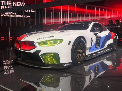 'BMW 뉴 M8 GTE'./김참 기자