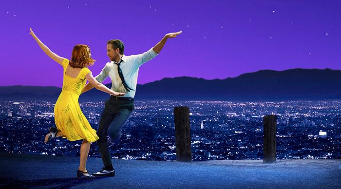 올해 아카데미 시상식 6개 부문을 수상한 '라라랜드'에서 '미아'(에마 스톤)와 '시배스천'(라이언 고슬링)이 춤추는 장면.