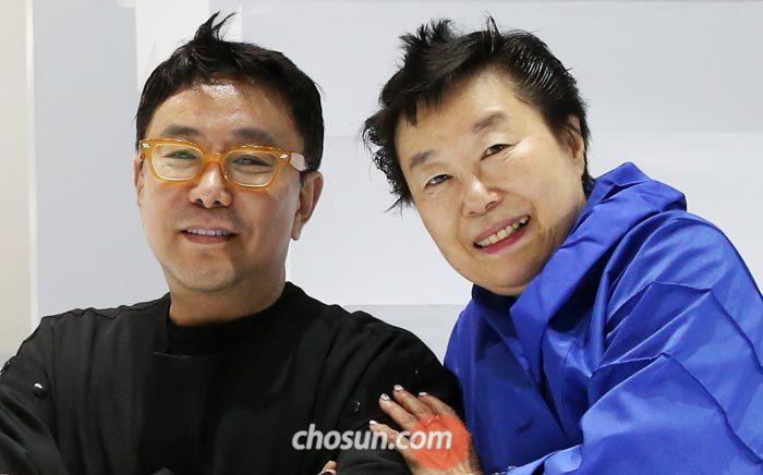 '춘상'의 정구호(왼쪽) 연출가와 배정혜 안무가.