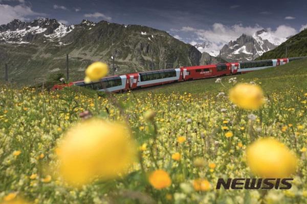 스위스 산악열차.