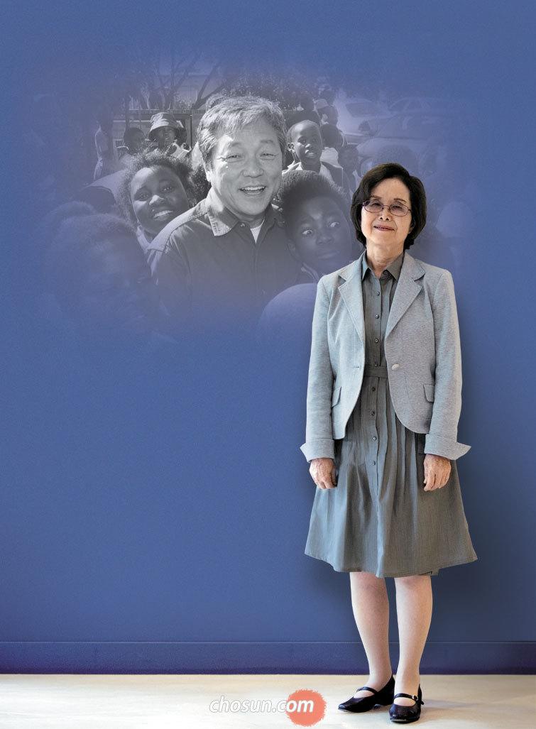 페루 카라바이유 판자촌의 자원봉사자 가부라키 레이코 여사가 지난달 30일