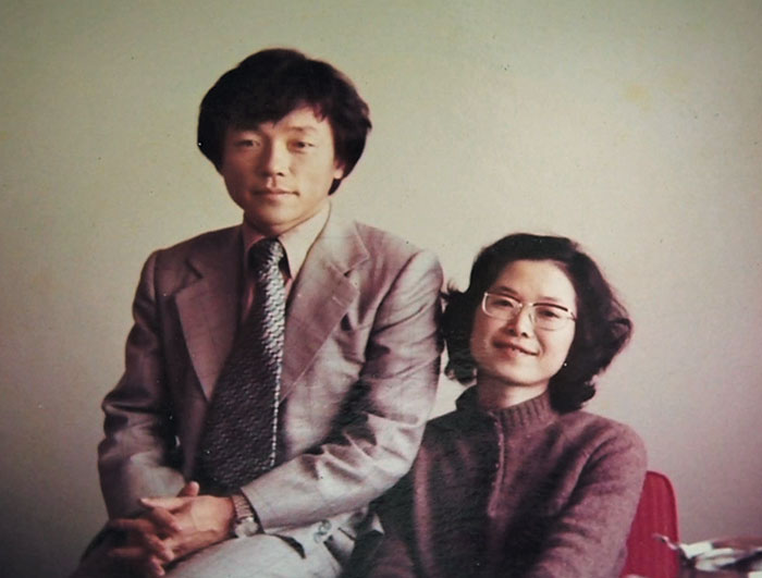 1970년대 말 의사 이종욱과 가부라키 레이코의 신혼 시절.