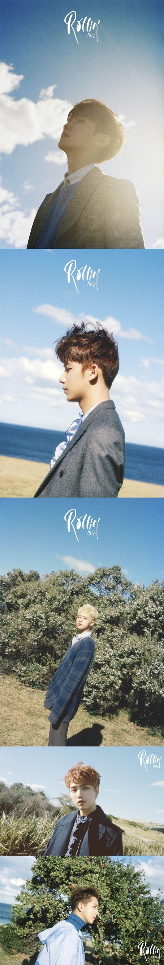 """[Oh!쎈 컷] '컴백 D-1' B1A4, '블루' 개인 포스터 공개 """"아름다운 청춘"""""""
