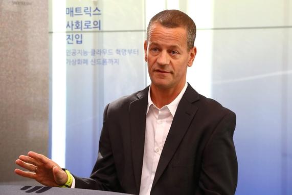 마이크 슈스터 구글 번역 최고 담당자. /조선비즈 DB