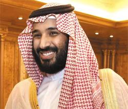 사우디 무함마드 빈살만 왕세자