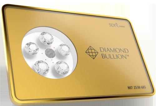 다이아몬드 불리온(Diamond Bullion) 상품 이미지. /싱가포르 다이아몬드 민트 컴퍼니 캡처