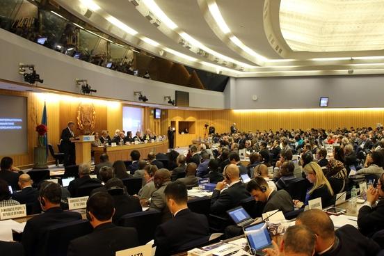 2015년 개최된 국제해사기구(IMO)의 제29차 총회 /IMO 홈페이지