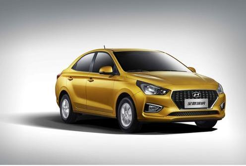 지난달 중국에서 출시된 신형 루이나/현대차 제공
