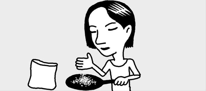 [리빙포인트] 프라이팬 기름때 씻어내려면