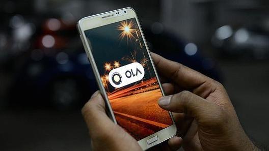 '인도판 우버'라고 불리는 택시앱 올라(OLA) / 블룸버그 제공.