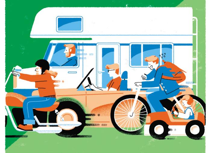 아버지를 위한 잡지 '볼드 저널' 최근호의 주제는 '탈것'이다. 크고 잘 달리고 비싼 차가 아니라 가족들과의 추억이 담긴 '사연 있는 차'에 대한 이야기가 아버지로서 삶의 향방을 고민하는 남성들에게 길잡이 역할을 한다.
