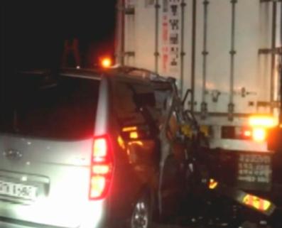 당시 교통사고 현장 영상 캡처/조선일보DB