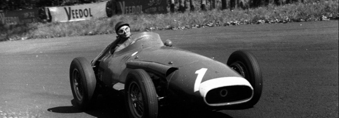 마세라티 초기, 전설적 F1 레이서로 유명한 후안 마누엘 판지오와 '마세라티 250F'