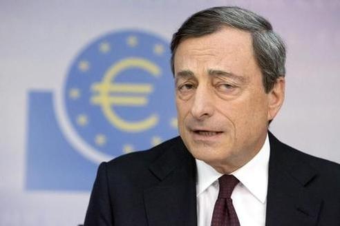 마리오 드라기 ECB 총재/블룸버그 제공