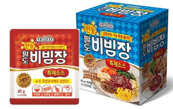 """팔도, '만능비빔장' 완판 행진…""""판매처·소스사업 확대"""""""