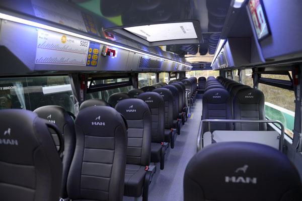 경기도는 이번 5003번 노선을 시작으로 총 29대의 2층버스를 도내 추가 도입할 계획이다.