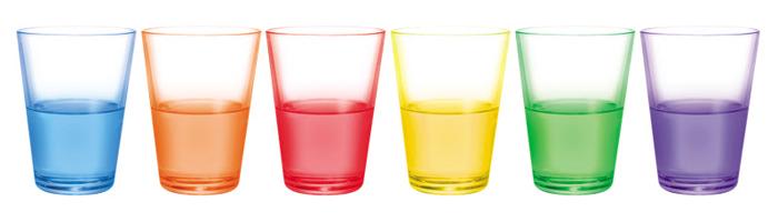'어떤 색 음료가 가장 달콤할까?' 영국 런던과학박물관에서 벌인 실험에 참가한 사람들은 빨간색 음료가 가장 달 것이라고 응답했다.
