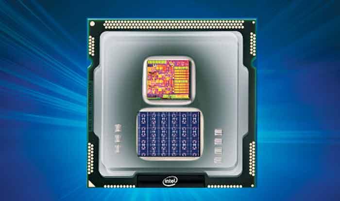 인텔이 개발 중인 AI 칩 '로이히'의 가상 이미지. 사람의 뉴런과 시냅스 구조를 모방했다.