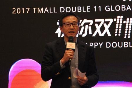 차이종신 알리바바 부회장은 10일 미디어 브리핑에서 중국의 중산층 소비자 3억명이 경제 성장동력을 소비 주도형으로 바꾸고 있으며 광군제가 이를 실현시키는 역할을 하고 있다고 자평했다.  /상하이=오광진 특파원
