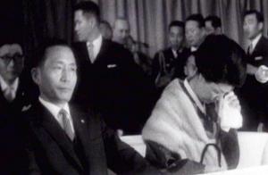 1964년 함보른 탄광에 방문한 박 대통령 내외.