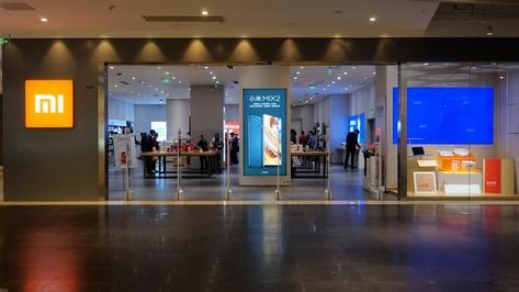 2017년 11월 8일 중국 상하이의 쇼핑몰 '다청위에'에 있는 샤오미 매장. /김남희 기자