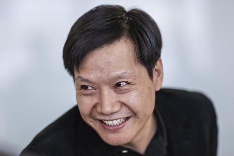 샤오미 창업자인 레이쥔 최고경영자. /블룸버그