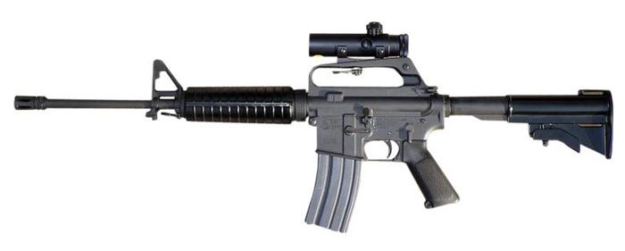 AR-15 반자동 돌격 소총
