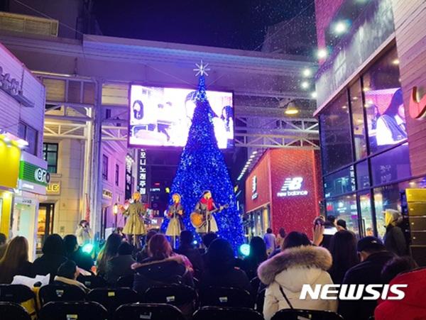 지난해 12월 제주윈터페스티벌이 열리는 모습. 올해는 오는 12월16일부터 1월 21일까지 열린다.