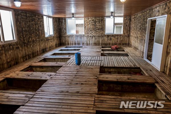 전남 함평군 해수찜 집 내부.