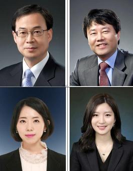 위쪽 좌측부터 손병준 변호사, 김경태 변호사. 아래쪽 좌측부터 김나연 변호사, 이정아 변호사./광장 홈페이지