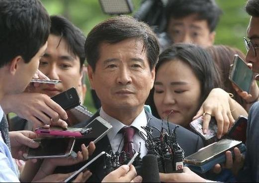 지난 2016년 6월 남상태 전 대우조선해양 사장이 피의자 신분으로 조사받기 위해 서울 서초구 고등검찰청에 출석했다./조선일보DB
