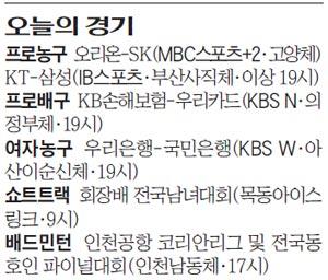 [오늘의 경기] 2017년 12월 8일