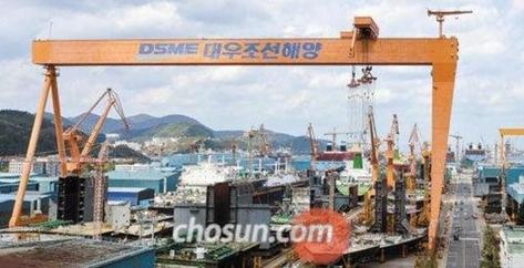 경남 거제시 대우조선해양 옥포조선소 모습. /조선DB